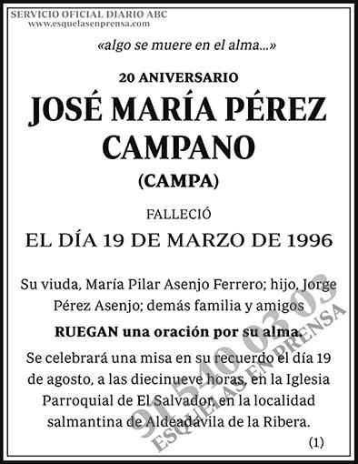 José María Pérez Campano